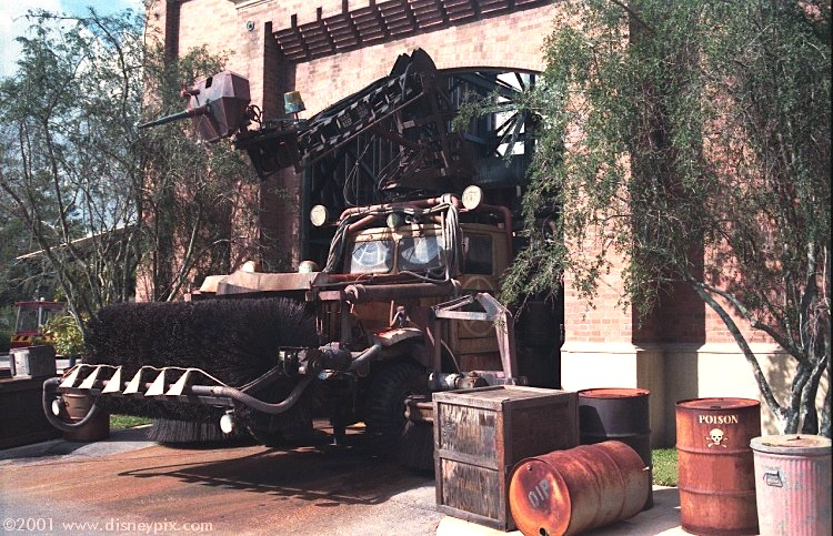 Dipmobile at Disney-MGM Studio theme park