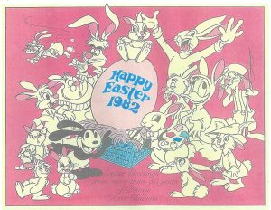 1982 Disney 'Easter Bunnies' promotion