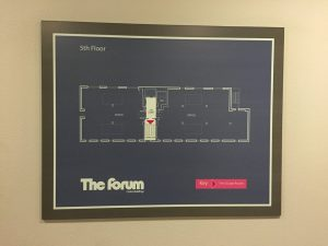 The Forum - 5th floor layout, 2015