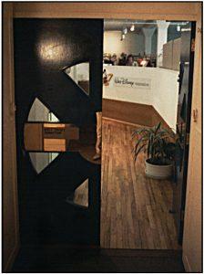 The Forum - 3rd Floor doorway, 1988