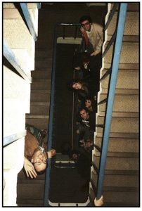 The Forum stairwell - 1988
