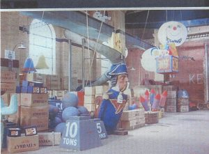 Acme Warehouse as it appeared in 'Who framed Roger Rabbit'