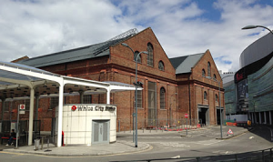 London Transport bus depot in 2015