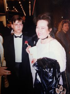 Harry and Annie Elvin at the London premiere