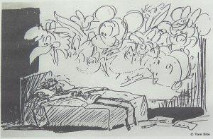 Tom Sito gag drawing - nightmare