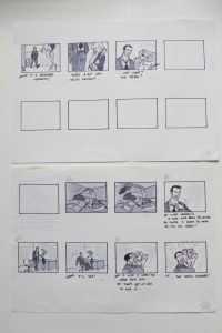 storyboard from Disney develpment period - 6