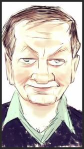 caricature of Williams