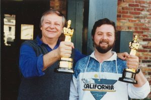 Williams and Muller at Chadneys the day after Oscars