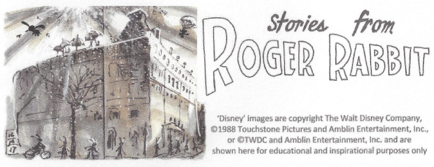 Early Disney character designs – Roger Rabbit